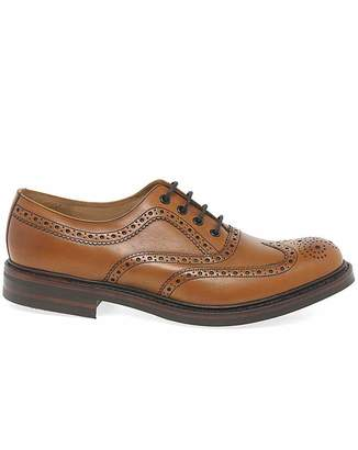 Loake Edward Mens Wider Fit Brogues