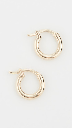 Adina 14k Huggie Hoop Earrings