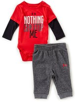 Under Armour Baby Boys Newborn-12 Months Nothing Can Stop Me Bodysuit & Pants Set