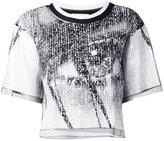 Aviu embroidered blouse - women - Polyamide/Polyester/Viscose - 46