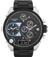 Diesel Men's DZ7278 Silicone Quartz Watch with Dial