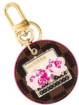 Louis Vuitton Illustre Posies Bag Charm