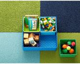 Container Store Color Block Bins Blue Set of 5