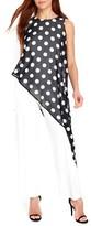 Wallis Women's Polka Dot Overlay Jumpsuit