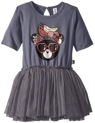 HUXBABY Fruit Bear Ballet Dress (Infant/Toddler) (Deep Blue) Girl's Dress