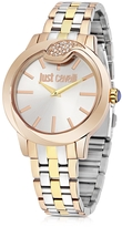 Just Cavalli Spire Tri-Tone Women's Watch