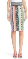 Missoni Fish Scale Knit Pencil Skirt