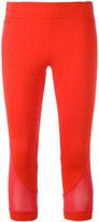 adidas by Stella McCartney exposed seam leggings - women - Polyester/Spandex/Elastane - XS