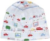 Kissy Kissy Metro Print Hat (Baby) - Blue-Small