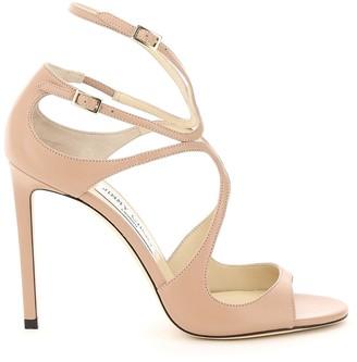 Jimmy Choo Nappa Lang Sandals