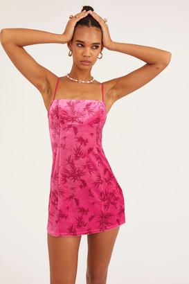 Urban Outfitters Dawn Velvet Slip Dress