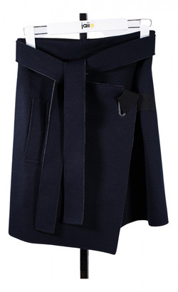 Carven Blue Wool Skirts
