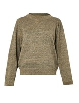 Isabel Marant Wal metallic knit sweater