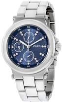 Jones New York Women's 38mm Steel Bracelet & Case Quartz Watch 11695S528-102