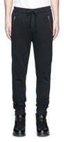 3.1 Phillip Lim Quilted trim cotton jogging pants