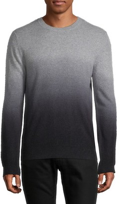 Saks Fifth Avenue Dip-Dyed Cashmere Sweater