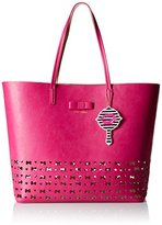 Betsey Johnson Laser Tage In Tote Bag