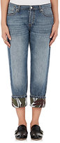 Marni Women's Cotton-Linen Boyfriend Jeans