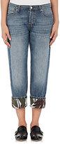 Marni Women's Cuffed Boyfriend Jeans