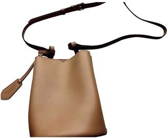 Burberry The Bucket Camel Leather Handbags