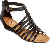 A.N.A a.n.a Grate Low-Wedge Strap Sandals
