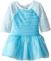 Youngland Baby Girls' Eyelash Bodice Tutu Mesh Dress
