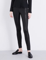 Elizabeth and James Xavier skinny stretch-leather leggings