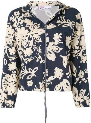 RED Valentino Floral-Print Jacket