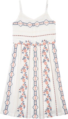 Pippa & Julie Embroidered Tank Dress