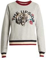 The Upside Tiger Rose cotton sweatshirt