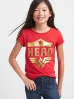 Gap GapKids | Wonder Woman keyhole tee