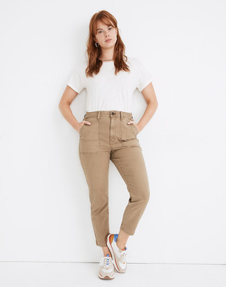 Madewell Curvy Stovepipe Fatigue Pants: TENCEL Lyocell Edition
