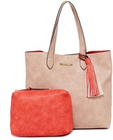 Steve Madden Lou Two-Tone Tote