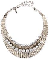 Oscar de la Renta Bold Pearly Collar Necklace