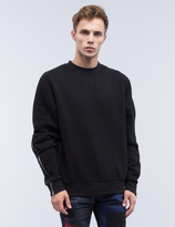 Mostly Heard Rarely Seen Contrast Splice Crewneck Sweatshirt