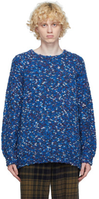 ts(s) tss Blue Wool Marled Sweater