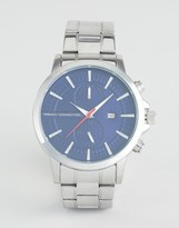 French Connection Watch With Blue Dial