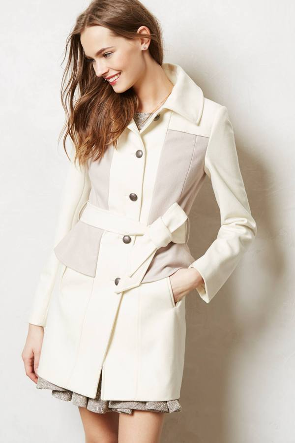 Anthropologie Colette Trench