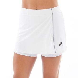Asics Womens Tennis Skort Brilliant White