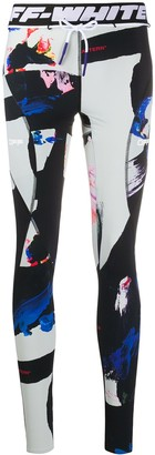 Off-White Painted Leggings