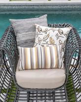 Elaine Smith Moda Stripe Indoor/Outdoor Pillow