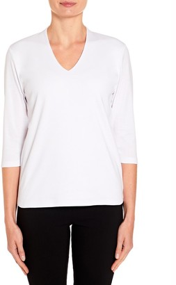 M&Co TIGI high back v-neck top