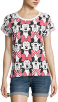 Mighty Fine . Short Sleeve Minnie Mouse Graphic T-Shirt