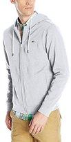 Lacoste Men's Classic Cotton Fleece Hooded Sweatshirt