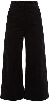 Dodo Bar Or Ivy Cotton-blend Corduroy Trousers - Black