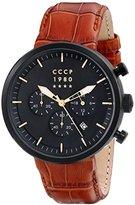 Cccp Men's CP-7007-07 Kashalot Dress Analog Display Japanese Quartz Brown Watch