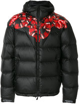 Marcelo Burlon County of Milan Trapial down jacket