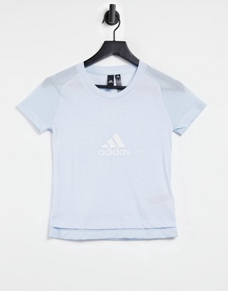 adidas Graphic T-Shirt In Blue