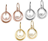 Disney Mickey Mouse Diamond Double Hoop Earrings