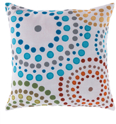 Surya Bright Dot Indoor/Outdoor Pillow